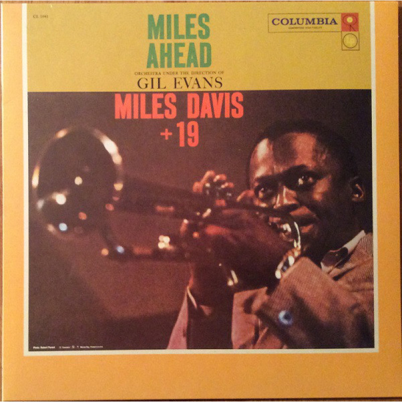 Miles Davis + 19 With Orchestra Under The Direction Of Gil Evans ‎– Miles Ahead
